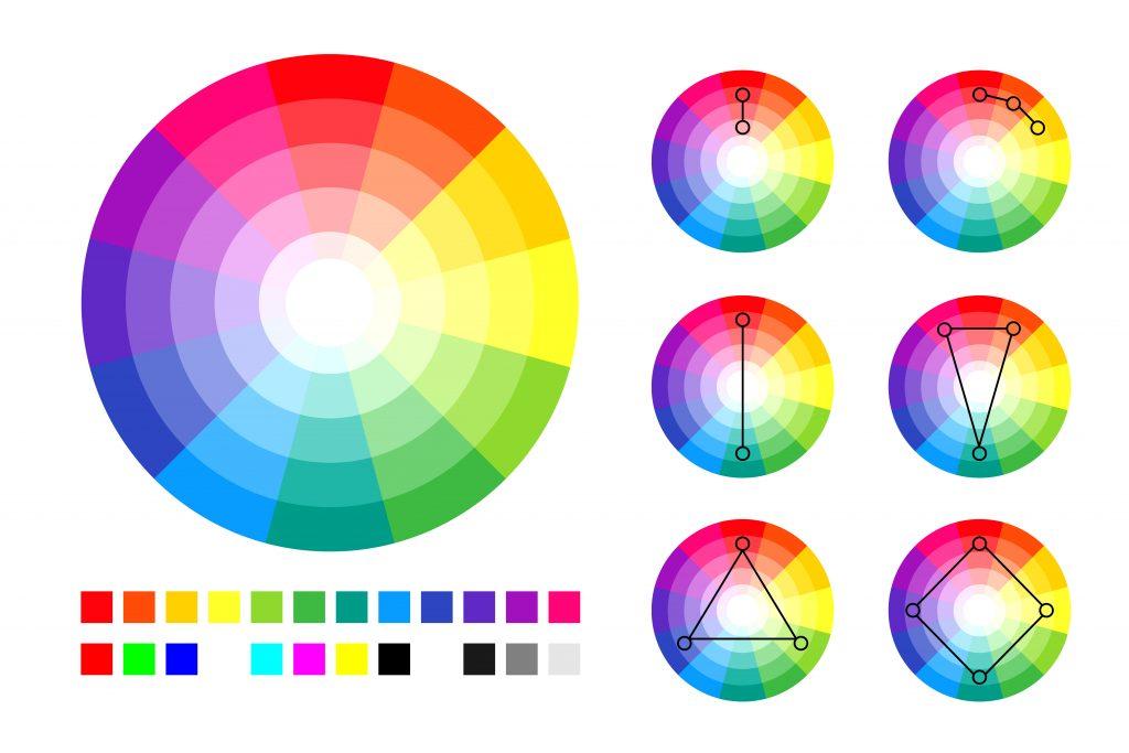 el elemento color