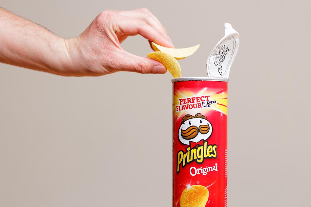 pringles branding
