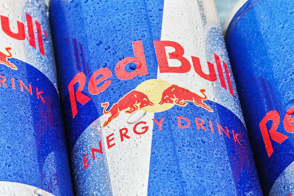 red bull branding